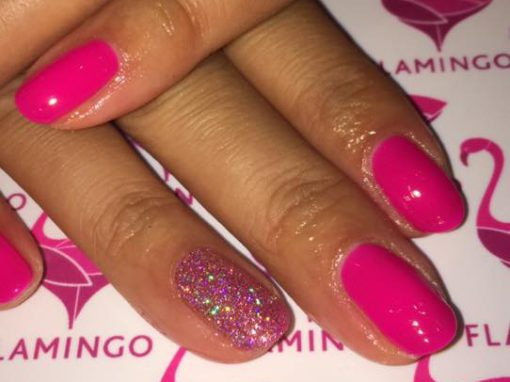 Gel Overlays with a little sparkle? £25